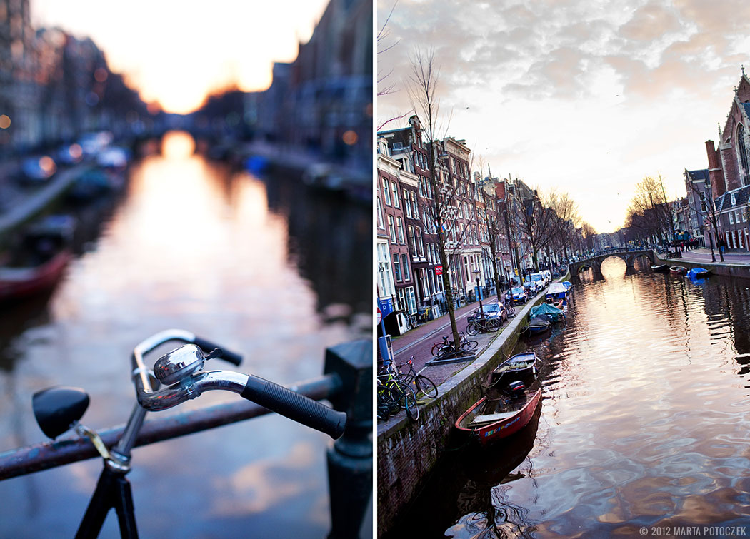 Amsterdam - Bikes and Canals