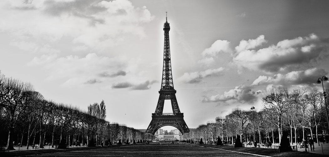 Paris In Black And White By Marta Potoczek Featured