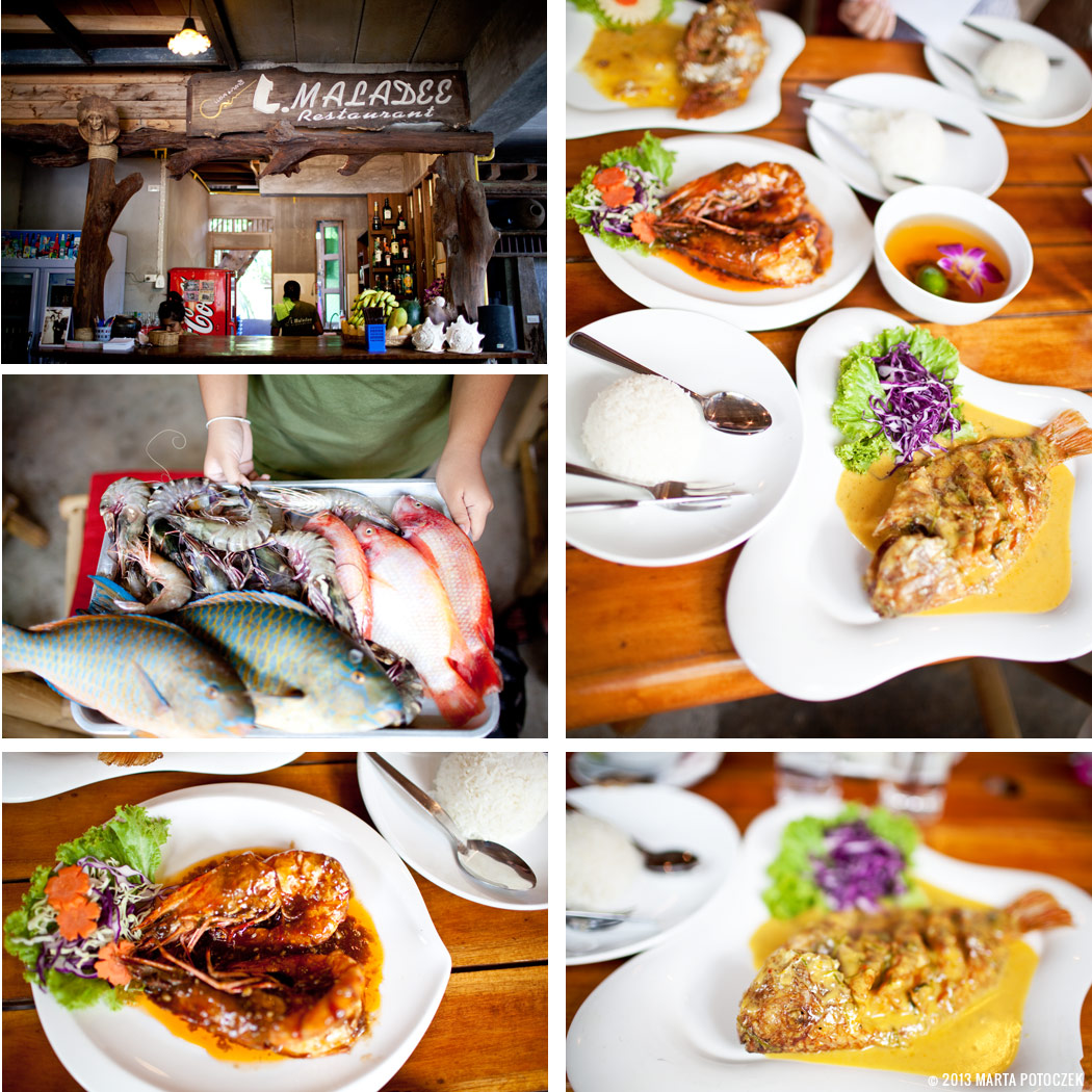tajlandia, koh lanta, jedzenie