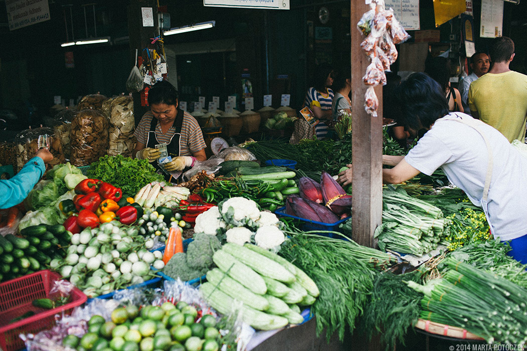 11-abundance of veggies in chiang mai food market