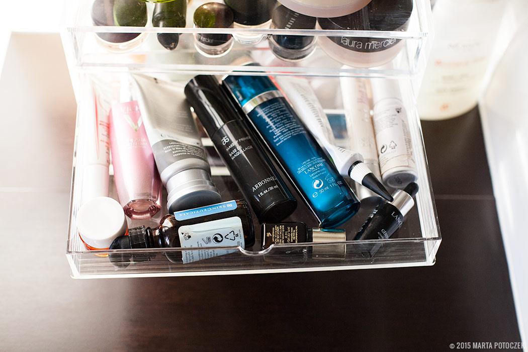 Przechowywanie kosmetyków diy