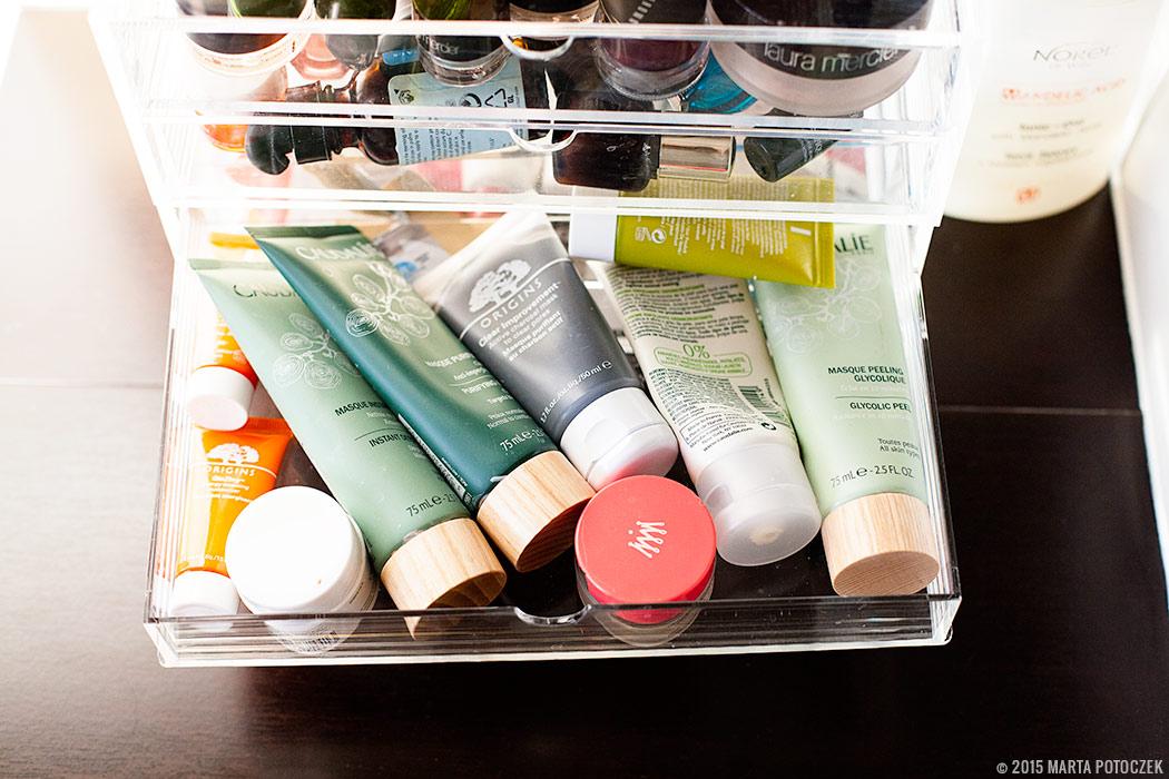 Przechowywanie kosmetyków blog