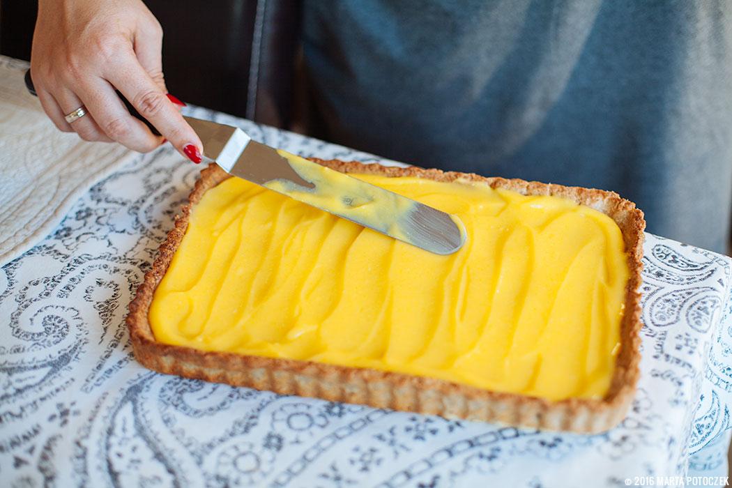 lemon curd tarta beza