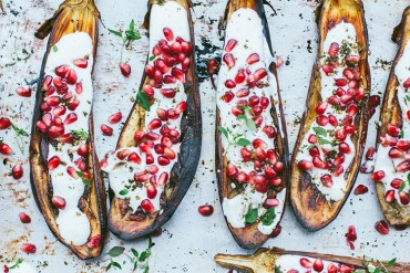aubergine with buttermilk
