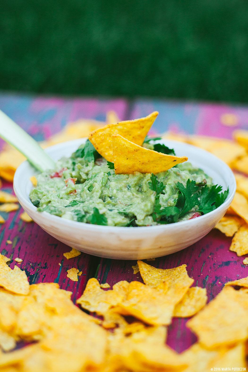 przepisy na przekąski - guacamole