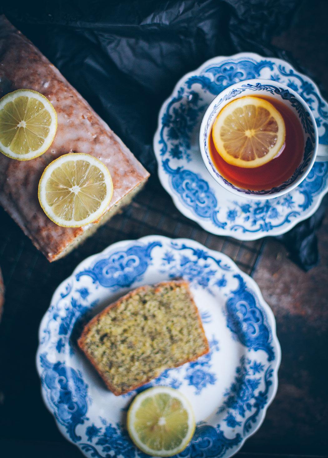 Ciasto cytrynowo makowe